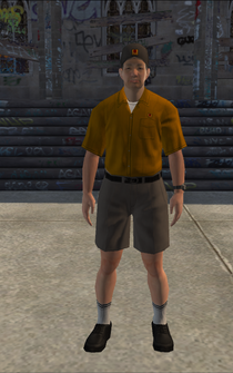 UPS - asianBPS - character model in Saints Row