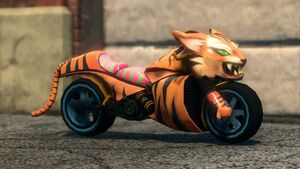 Angry Tiger - front right in Saints Row The Third