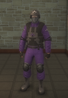 Gang Customization - Bodyguards - male soldier 1 - hispanic