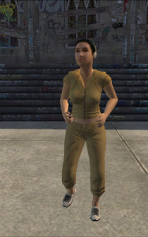 Jogger female - asian - character model in Saints Row