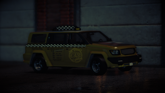 Kayak Taxi Average variant in Saints Row IV