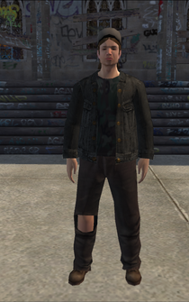 PoorTrash male - TruckYardLiqourStore - character model in Saints Row
