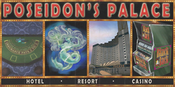 Poseidon's Palace billboard