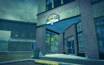 Prawn Court in Saints Row 2 - On The Rag exterior