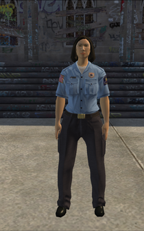 Saints Row Hitman Target 17 - EMT female - Jackie