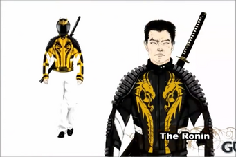 The Ronin concept art - male