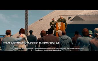 Thermopylae press conference