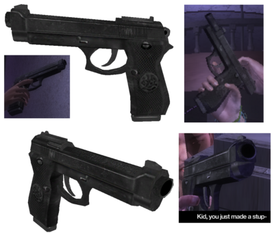 VICE 9 - cutscene version in model viewer and in cutscenes