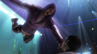 Angel in the Saints Row The Third Power CG trailer