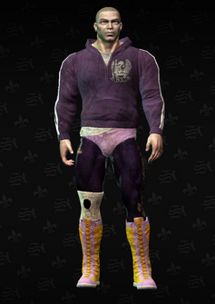 Angel nomask - character model in Saints Row The Third