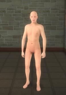 Broken NPC 3 - character model in Saints Row 2