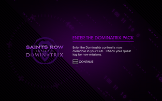 Enter the Dominatrix Pack unlocked