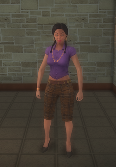 Gang Customization - Prephop - female soldier - hispanic