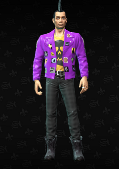 Gang Customization - Punk 1 - Vincent - in Saints Row The Third