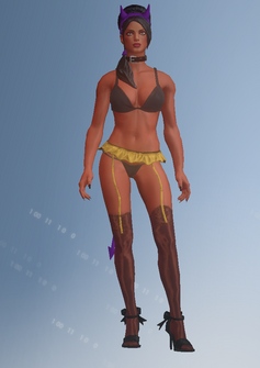 Gang Customization - Stripper 3 - Linda - in Saints Row IV