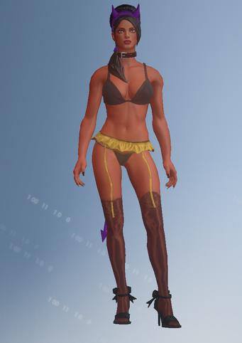 Gang Customization - Stripper 3 - Linda - in Saints Row IV