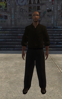 Highincome - blackGuy - character model in Saints Row