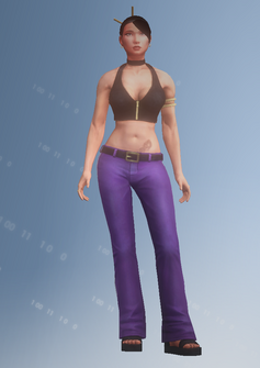 Lin - character model in Saints Row IV