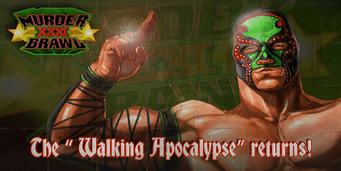 Murderbrawl XXXI - The Walking Apocalypse returns billboard