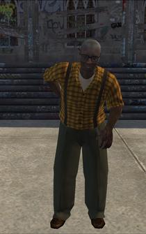 OldMan - black - character model in Saints Row