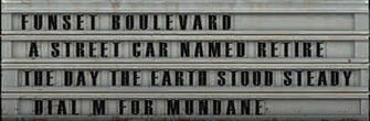 Pleasantville Drive-in sign
