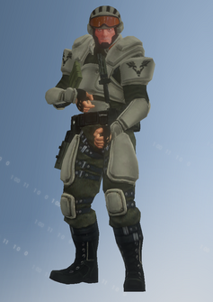 STAG - sniper - character model in Saints Row IV
