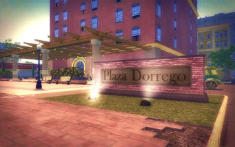 Southern Cross in Saints Row 2 - Plaza Dorrego
