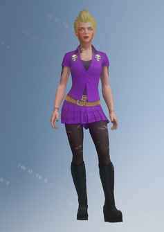 Gang Customization - Punk 3 - Sophia - in Saints Row IV