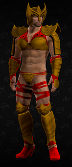SRTT Outfit - Warrior Princess (male)