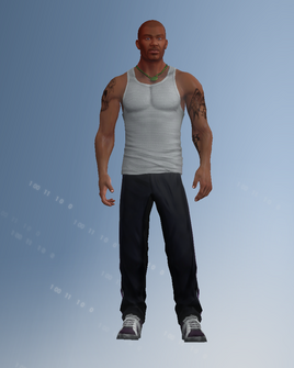Saints Row 2 player character model in Saints Row IV