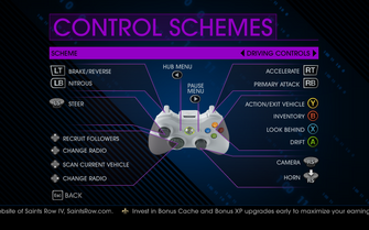 Saints Row IV Driving Controls 1