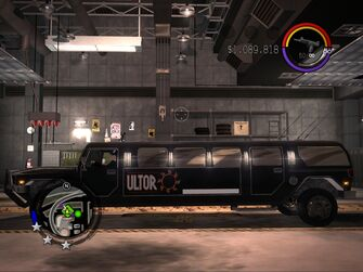The Job - Ultor variant - left in Saints Row 2