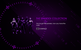 The Super Saints Pack - The Spandex Collection unlocked