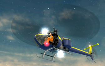 Thompson - front left bottom in flight in Saints Row 2