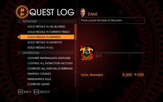 Gat out of Hell Challenge - Gold Medals in Mayhem