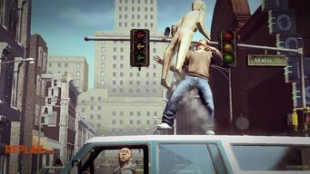 Saints Row Money Shot - Anna Will Be Right Back - end mission replay after hitting blowup doll