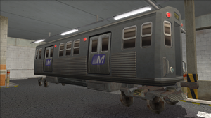 Saints Row variants - El Train - El Train Front - front right