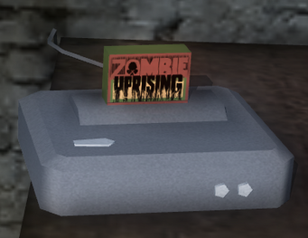Zombie Uprising - video game console