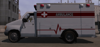 Ambulance - left in Saints Row
