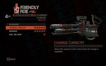 Flamethrower Upgrades