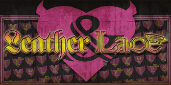 Leather & Lace - Saints Row The Third store sign