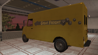 Saints Row variants - Delivery Truck - Great Freight - rear left