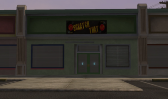 Scratch That - Sommerset - exterior in Saints Row
