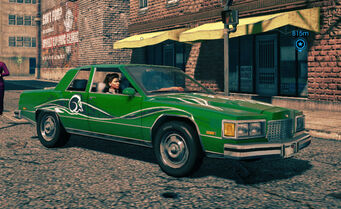 Stiletto - SOS variant - front right in Saints Row IV