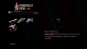 Weapon - Explosives - Tiny Pistol - Main