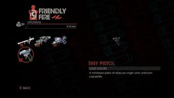 Weapon - Explosives - Tiny Pistol - Main