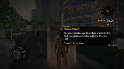 Driving Stunts tutorial in Saints Row 2
