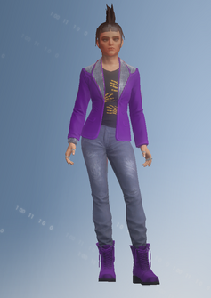 Gang Customization - Punk 4 - Myra - in Saints Row IV