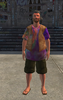 Hippie male - hippie1 - character model in Saints Row
