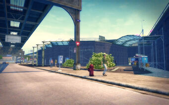 Prawn Court in Saints Row 2 - Transportation Center